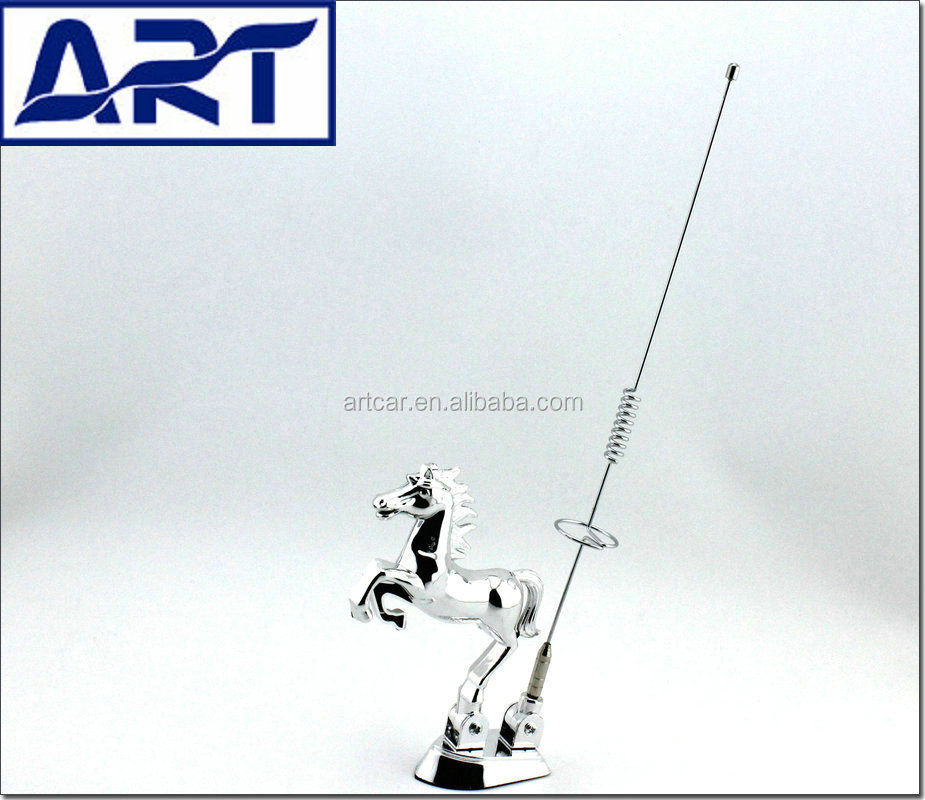 Car decoration horse antenna buy horse antenna car horse for Antenna decoration