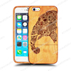 new arrival 2015 hot selling items Dongguan Custom Real Wooden Cell Phone Case