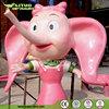 Welcome Statue Fiberglass Cartoon Characters Elephant