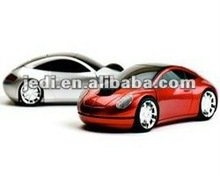 latest 2.4 optical mouse car wireless mouse
