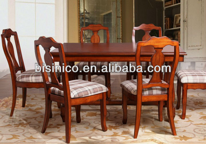 Ingl s americano muebles r sticos estilo comedor juego for Comedor americano