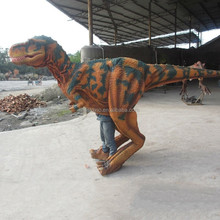 2014 hot sale museum-quality realistic dinosaur costume