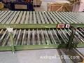 Doble capa de transportador de rodillos para la línea de aire acondicionado, transportador de rodillo de la línea de montaje
