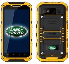 4.3 inche IP68 RAM 2G ROM 16G Quad Core NFC MTK6589 dual sim 3G waterproof smartphone land rover a9
