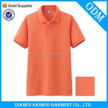 Custom Mens Plain Polo Shirts With Printing Classic Garment