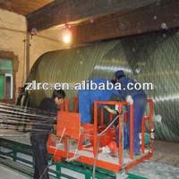 CNC computer control Horizontal FRP Tank Winding Machine/grp vessel production line