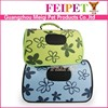 durable pvc small pet cage dog carrier with S, M sizes