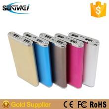 Senmei high capacity power bank custom power bank power bank for macbook pro /ipad mini