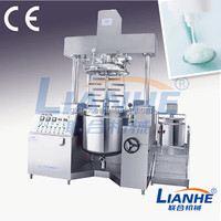 Cosmetic lotion making mixer, vacuum cosmetics making machine, showel gel making machines