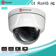 1.3/2.0MP 960/1080P Varifocal Lens Infrared Waterproof Day&Night CCTV Surveillance TVI Dome Camera With 3D Noise Reduction