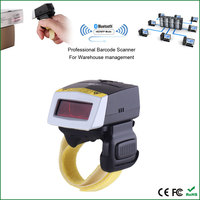 FS01 1D Laser Mini BT Ring Barcode Scanner for Iphone and android smart phone