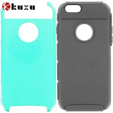 Hard TPU Honeycomb Rugged Case Cover for Apple iPhone 6(4.7 inch),luxury design mobile phone holster in high quality
