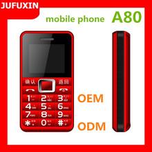 A80 1.77inch GSM 900/1800/Dual sim card dual standby/FM/GPRS /Bluetooth/ multi language/TF card basic function mobile phone