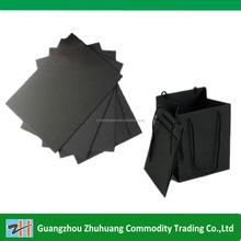 Shopping bag paper black paper
