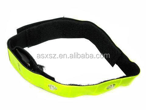 Безопасность спорт велосипедов безопасности светоотражающий ремни из светодиодов флэш ремень