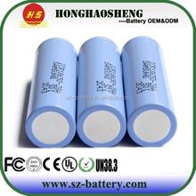 Good news !!!!! provide free samples 28a 3.7v 2800mah battery cell