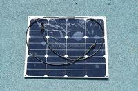 Photovoltaic Semi-flexible sun power solar panel