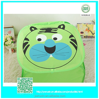 green tiger easy fold up houses kid's toy laundry storage ///cheap laundry bag