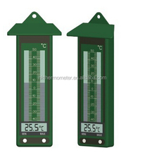 Green Digital Max-Min Room Temperature Thermometer