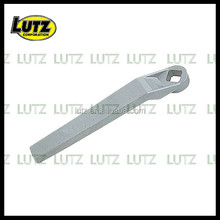 Investment casting Aluminum office chair armrest aluminum die casting parts casting series lost wax Precision Casting