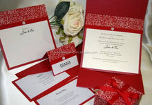 Alibaba china factory direct invitation cards for family party