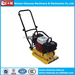 New arrival 5.5hp Honda engine vibratory plate compactor with water tank plate compactor for sale