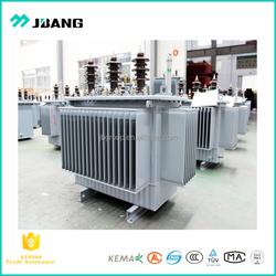 Professional transformer manufacturer primary 5kv~35kv oil immersed type transformers 20kva-2000kva full seal copper windings