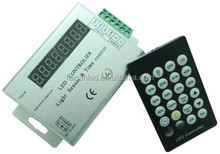 2015 Direct Selling Sale Controller Rgb For Intelligent Light Sensor And Time Programmable Led Controller For Single Color Strip