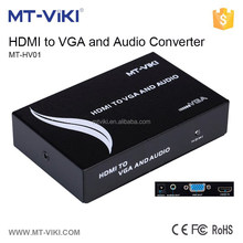 MT-VIKI 1 port hdmi input and 1 port vga and video output converter with format conversion MT-HV01