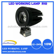 New Model with Patent Design 10W Round Cree LED Light for Vehicle LWL-10
