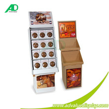 Wholesale pet supplies display rack, pet spices corrugated wire racks for pet store
