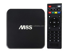 New Android Tv Box M8S M8S Amlogic S812 Quad Core Google Android 4.4/Android 4.4 2Gb/8Gb Kodi Bluetooth Dual-Band Wifi