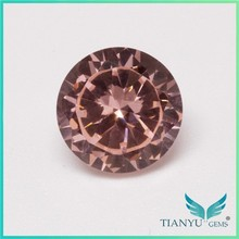 New Product Loose Round Faceted Cut And Polished Synthetic Nanosital Gemstone Cabochon Beads wholesale