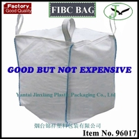 100% woven polypropylene pp high quality 1 ton jumbo bag with low manufacturer price in Yantai
