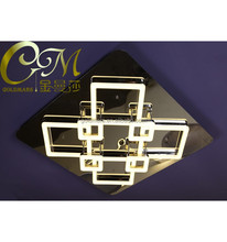 LED modern simple style ceiling lamp square shape for interior design using