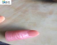 Silicone fake finger /artificial finger/ jokefinger for halloween
