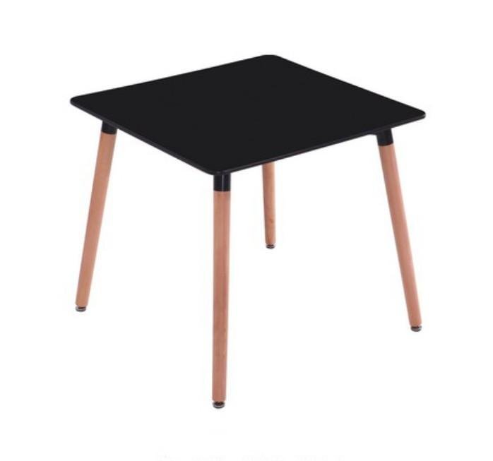 DT-710 современных МДФ обеденный стол офиса таблице деревянные ноги