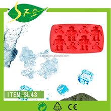 Ice tray New Fashion Promotion food freezer wholesale specialized ice tray in red