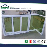 Cheap hot sale top quality glass sliding window materials