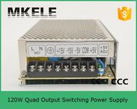 Q-120G 120w switching power supply 5v 12v 15v 24v,multiple output switching power supply,switching power supply
