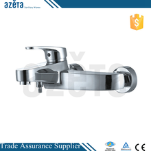 Fashion Chrome Brass Shower Mixer Tap Single Lever Bathtub Faucet