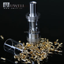 2015 new products Amazing pipe shape crown atomizer and eleaf istick 50W from china suppliers Uwell