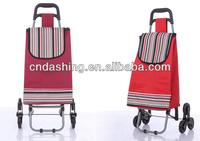 Shopping cart with three wheel