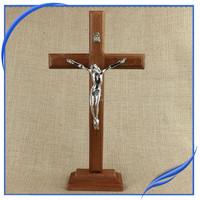 Factory wholesale religious Jesue wooden cross