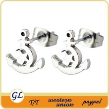 High quality wholesale earring,steel earring,fashionable cheap star and moon earrings