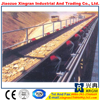China high quality Long Distance Curved Belt Conveyor System