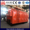 Hand burn horizontal DZH series boiler from steam boiler manufacturer
