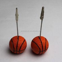 Plastic Photo Memo Clip Holder Ball Memo Clip