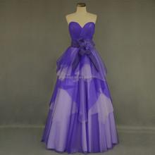 Real sample wholesale price suzhou evening dress #OE207