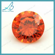 Lab created heat resistant cubic zirconia 3mm~5mm cz stone aaa